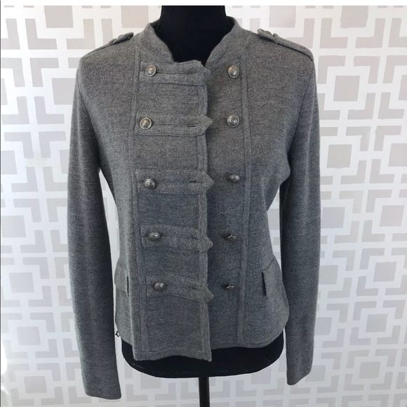 4342e62a50 LOFT Sweaters - Ann Taylor LOFT• Military Cardigan Sweater M